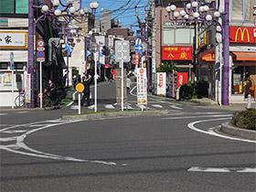 JR中山駅からの順路1