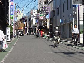 JR中山駅からの順路2