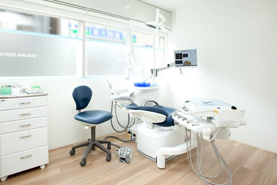 さくま歯科 診療室