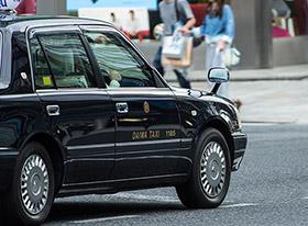 バリアフリーイメージ タクシー