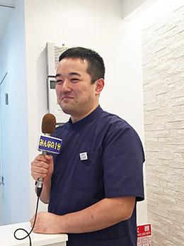 JCOM ケーブルテレビのデイリーニュースの取材
